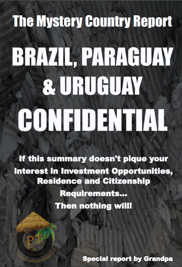 Brazil Paraguay Uruguay Confidential