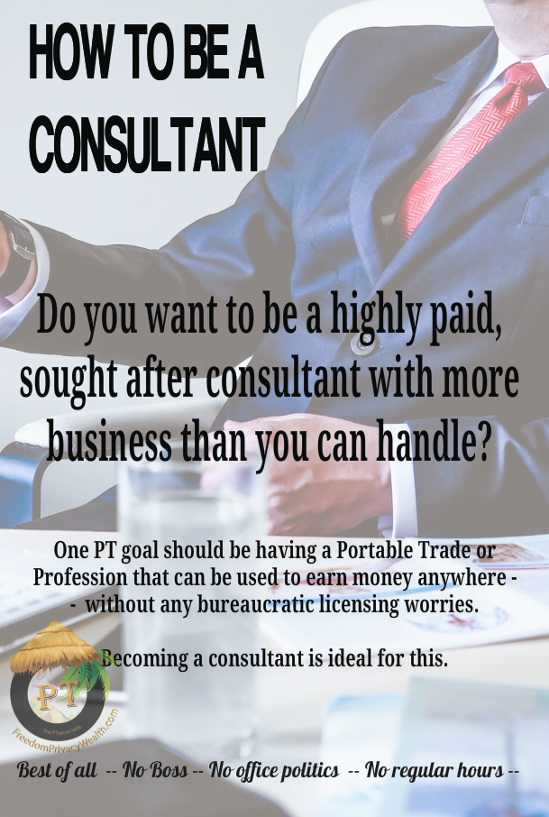 How To Be A Consultant_