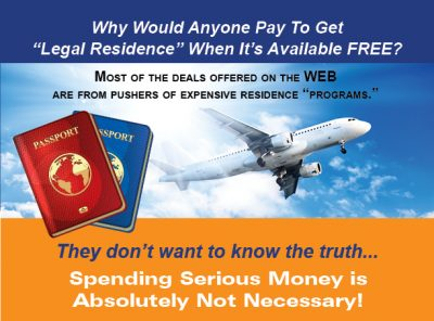 "INSTANT ""LEGAL RESIDENCE ABROAD"""