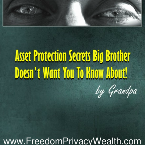 Asset Protection PTsecrets Big Brother Doesn't Want You To Know About!