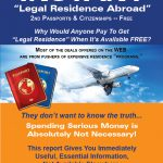 """Instant """"legal Residence Abroad"""""""